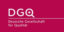 Logo: Deutsche Gesellschaft für Qualität